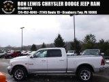 2014 Bright White Ram 1500 Laramie Crew Cab 4x4 #90881851