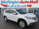 2013 White Diamond Pearl Honda CR-V EX AWD #90881918
