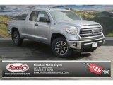 2014 Silver Sky Metallic Toyota Tundra SR5 TRD Double Cab 4x4 #90881649