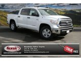2014 Super White Toyota Tundra SR5 Crewmax 4x4 #90881648