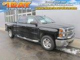 2014 Black Chevrolet Silverado 1500 LT Crew Cab 4x4 #90881709