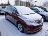 2011 Salsa Red Pearl Toyota Sienna LE #90882292