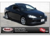 2006 Nighthawk Black Pearl Acura RSX Type S Sports Coupe #90882002