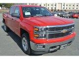 2014 Victory Red Chevrolet Silverado 1500 LT Z71 Crew Cab 4x4 #90882190