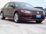 2014 Opera Red Metallic Volkswagen Passat 1.8T SE #90882268