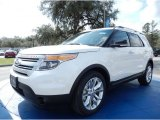 2014 White Platinum Ford Explorer XLT #90930563