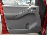 2013 Nissan Frontier SV V6 Crew Cab 4x4 Door Panel