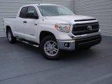 2014 Super White Toyota Tundra SR5 Double Cab #90930624