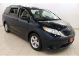2012 South Pacific Pearl Toyota Sienna LE #90930742