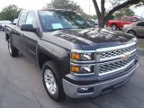 2014 Tungsten Metallic Chevrolet Silverado 1500 LT Double Cab #90930857