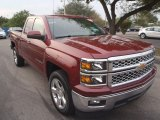 2014 Deep Ruby Metallic Chevrolet Silverado 1500 LT Double Cab #90930856