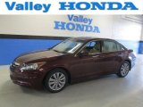 2011 Basque Red Pearl Honda Accord EX-L Sedan #90930474