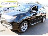 2011 Crystal Black Pearl Acura MDX  #90930533