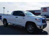 2014 Super White Toyota Tundra SR5 Double Cab 4x4 #90930583