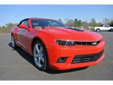 2014 Red Hot Chevrolet Camaro SS/RS Convertible #90930765
