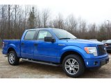 2014 Blue Flame Ford F150 STX SuperCrew #90930580