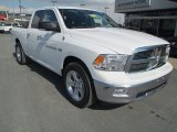 2011 Bright White Dodge Ram 1500 SLT Quad Cab 4x4 #90930694