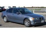 2002 Steel Blue Metallic BMW 3 Series 325i Sedan #90960328