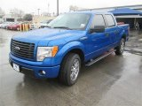2014 Blue Flame Ford F150 STX SuperCrew #90960367