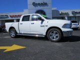 2014 Bright White Ram 1500 Big Horn Crew Cab #90960553