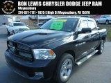 2012 Black Dodge Ram 1500 Sport Crew Cab 4x4 #90960602