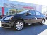 2014 Super Black Nissan Sentra SL #90960674