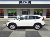 2013 White Diamond Pearl Honda CR-V EX #90960720