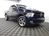 2012 True Blue Pearl Dodge Ram 1500 ST Crew Cab 4x4 #90960735