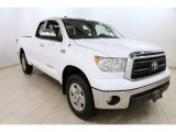 2012 Super White Toyota Tundra SR5 Double Cab 4x4 #90960771