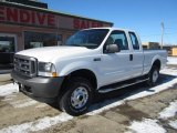 2004 Oxford White Ford F250 Super Duty XL SuperCab 4x4 #90960842