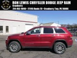 2014 Deep Cherry Red Crystal Pearl Jeep Grand Cherokee Limited 4x4 #91005594