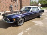 1970 Ford Mustang Plum Purple