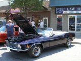 1970 Ford Mustang Convertible Data, Info and Specs