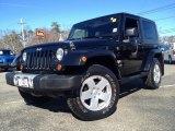 2010 Black Jeep Wrangler Sahara 4x4 #91005473