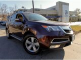 2011 Dark Cherry Pearl Acura MDX Technology #91005619