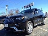 2014 Brilliant Black Crystal Pearl Jeep Grand Cherokee Summit 4x4 #91005462