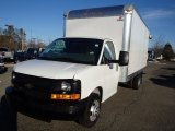 2014 Summit White Chevrolet Express Cutaway 3500 Moving Van #91005460
