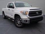 2014 Super White Toyota Tundra SR5 Double Cab #91005799