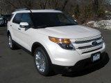 2014 White Platinum Ford Explorer Limited 4WD #91048094
