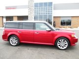 2010 Red Candy Metallic Ford Flex Limited EcoBoost AWD #91048076