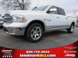 2014 Bright White Ram 1500 Laramie Crew Cab #91047880
