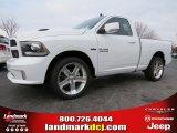2014 Bright White Ram 1500 Sport Regular Cab #91047876