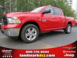 2014 Flame Red Ram 1500 Big Horn Crew Cab #91047875