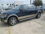 2014 Blue Jeans Ford F150 Lariat SuperCrew #91047801