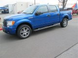2014 Blue Flame Ford F150 XLT SuperCrew #91047795