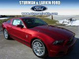 2014 Ruby Red Ford Mustang V6 Premium Coupe #91047856