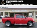 2012 Flame Red Dodge Ram 1500 SLT Quad Cab 4x4 #91047853