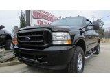 2003 Black Ford F250 Super Duty Lariat Crew Cab 4x4 #91047979