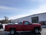 2014 Victory Red Chevrolet Silverado 1500 WT Regular Cab 4x4 #91081453