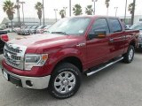 2014 Ruby Red Ford F150 XLT SuperCrew 4x4 #91092027